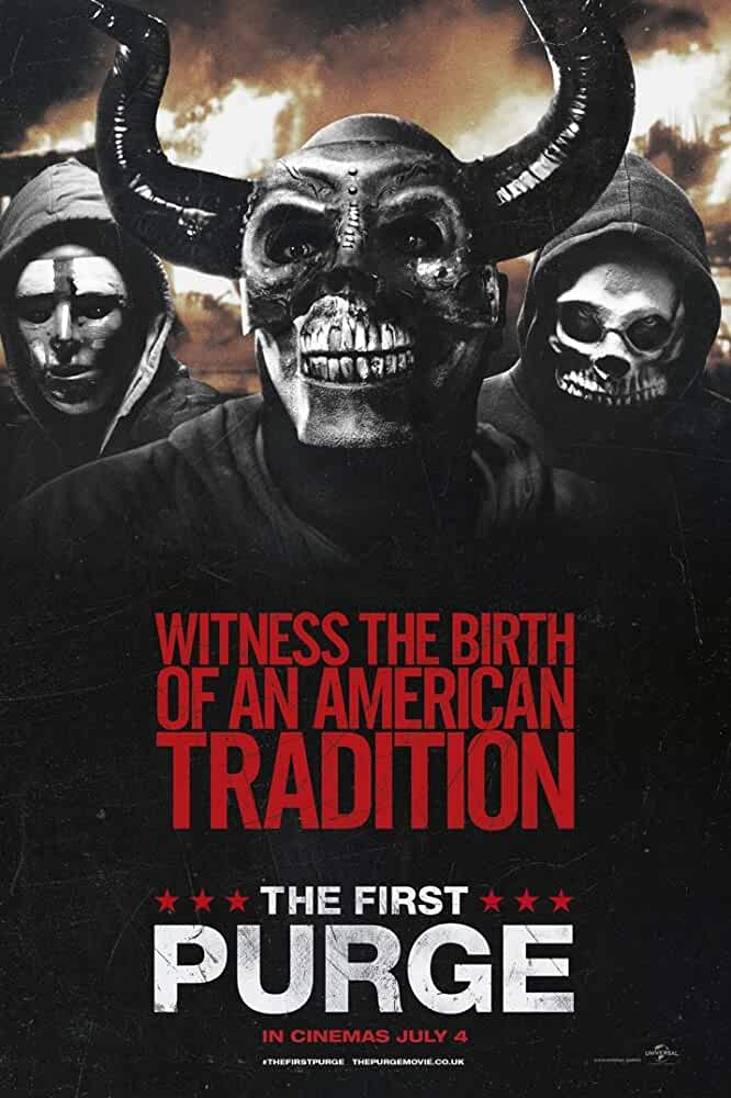 The First Purge (2020) Dual Audio BluRay [Hindi – English] x264 AAC ESUB