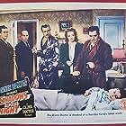 Nina Foch, Jeanne Bates, Warner Baxter, Edward Norris, and Ben Welden in Shadows in the Night (1944)