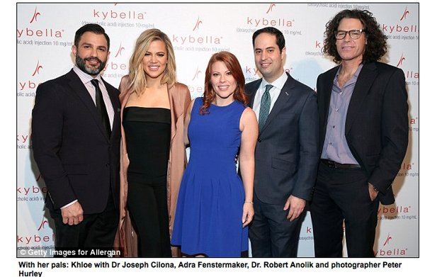 """New York City - """"Live Chin Up"""" Launch KYBELLA © / ALLERGAN® PLC [March, 2016]"""