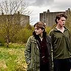 George MacKay and Emilia Jones in Nuclear (2019)