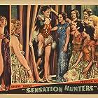 Finis Barton, Marion Burns, Zoila Conan, and Arline Judge in Sensation Hunters (1933)