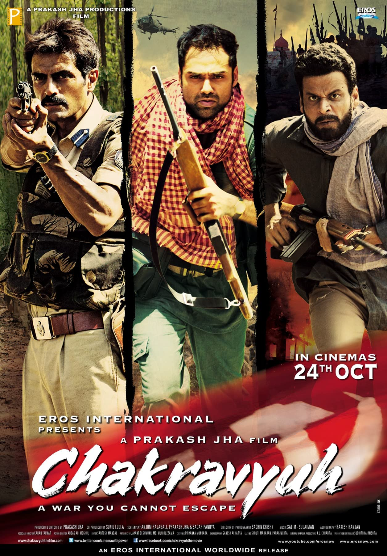 Chakravyuh (2012) Hindi AMZN WEB-DL x264 AAC