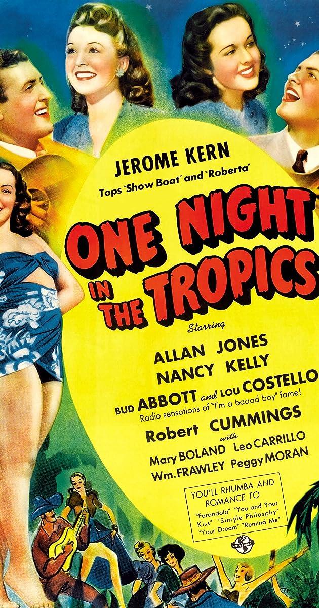 One Night in the Tropics (1940) - IMDb