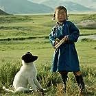 Nansal Batchuluun in Die Höhle des gelben Hundes (2005)