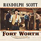 Randolph Scott and David Brian in Fort Worth (1951)
