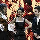 José Corbacho, Daniel Guzmán, and Natalia Verbeke in XXI Premios Anuales de la Academia (2007)