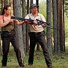 Yancy Butler and Corin Nemec in Lake Placid vs. Anaconda (2015)