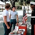 Charlie Sheen, Maxwell Caulfield, and Leonard O. Turner in The Boys Next Door (1985)