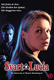 Svart Lucia Poster
