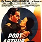 Danielle Darrieux, Charles Vanel, and Anton Walbrook in Port-Arthur (1936)