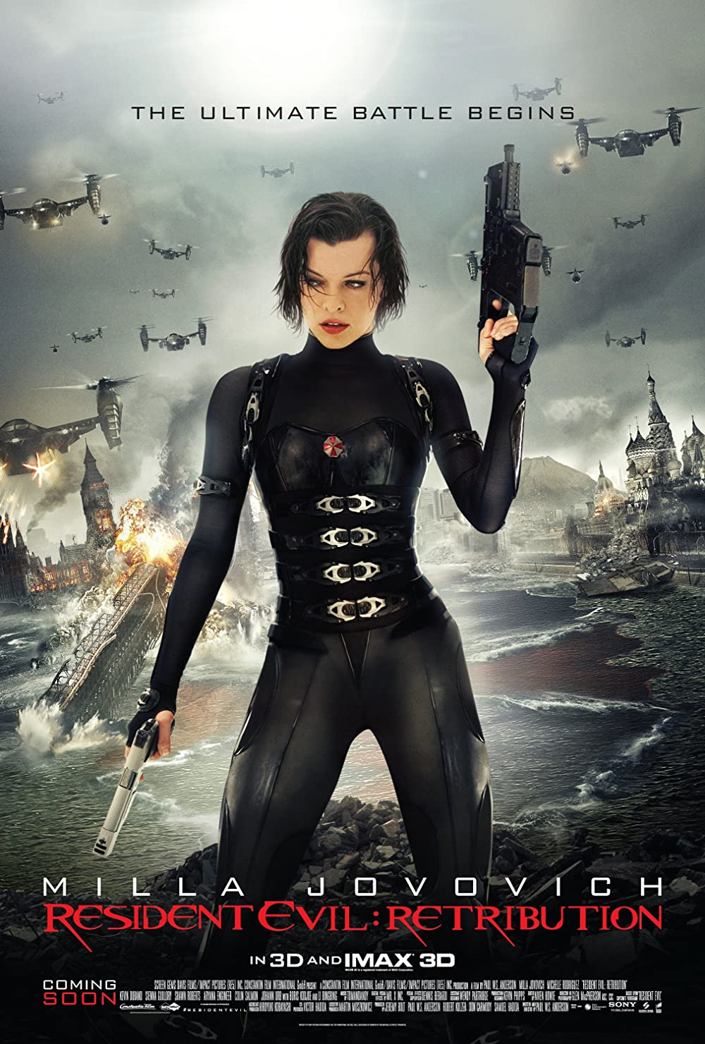 Resident Evil: Retribution 2012 Hindi Dual Audio 720p BluRay ESubs 700MB Download