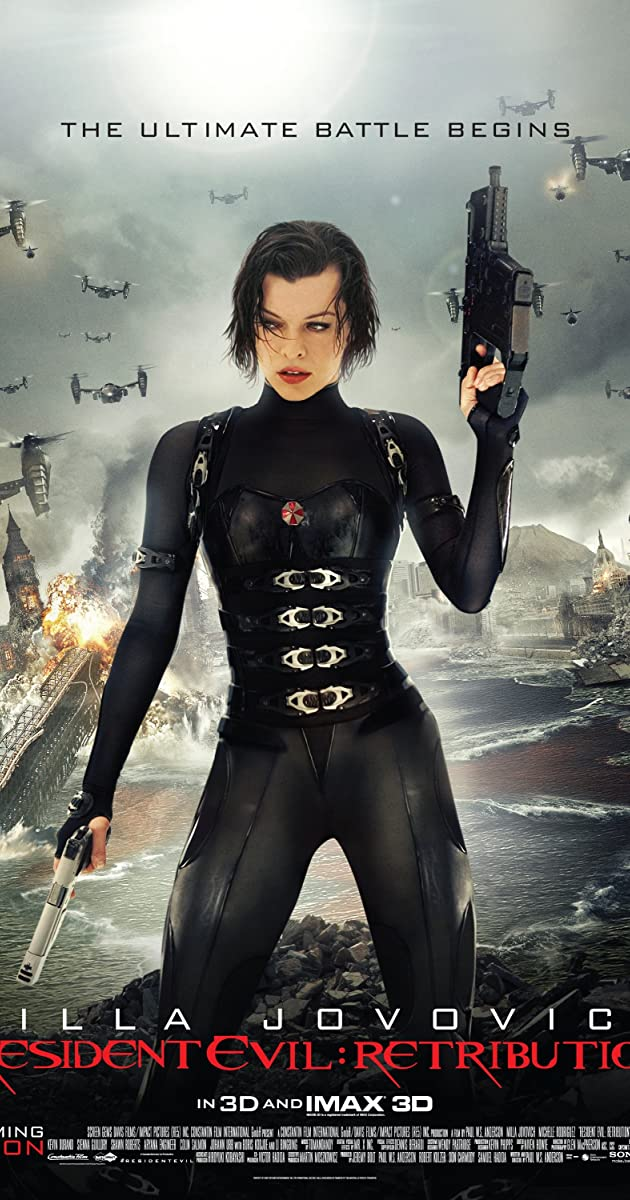 Subtitle of Resident Evil: Retribution
