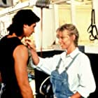 Lou Diamond Phillips and DeeDee Norton in Dakota (1988)