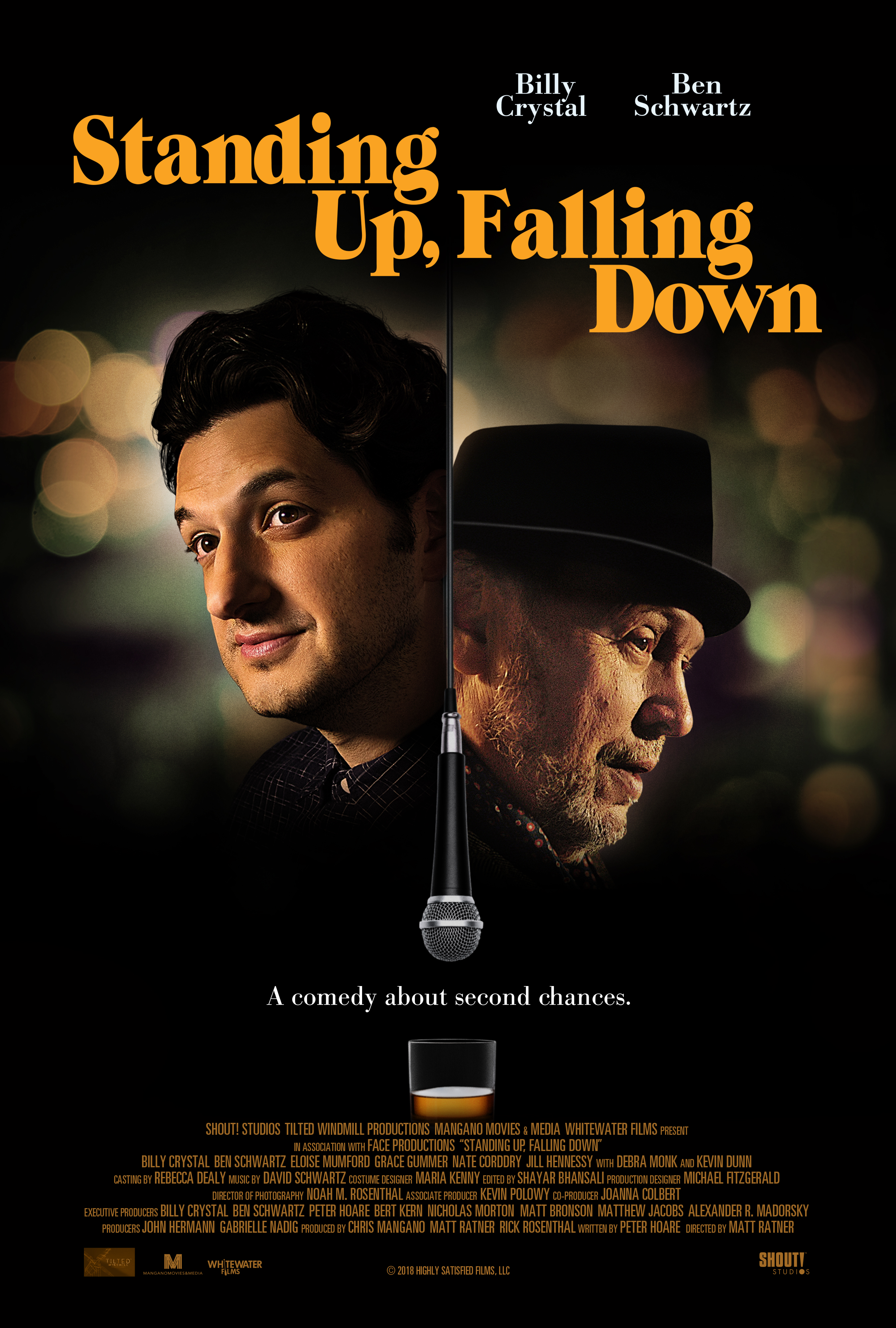 Standing Up, Falling Down (2019) - IMDb