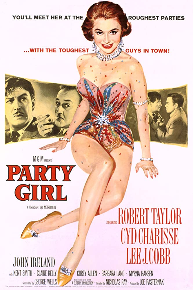 Robert Taylor, Cyd Charisse, Lee J. Cobb, and John Ireland in Party Girl (1958)