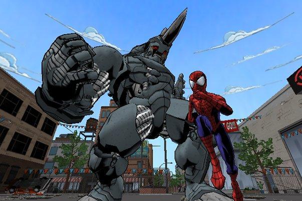 Bob Glouberman and Sean Marquette in Ultimate Spider-Man (2005)