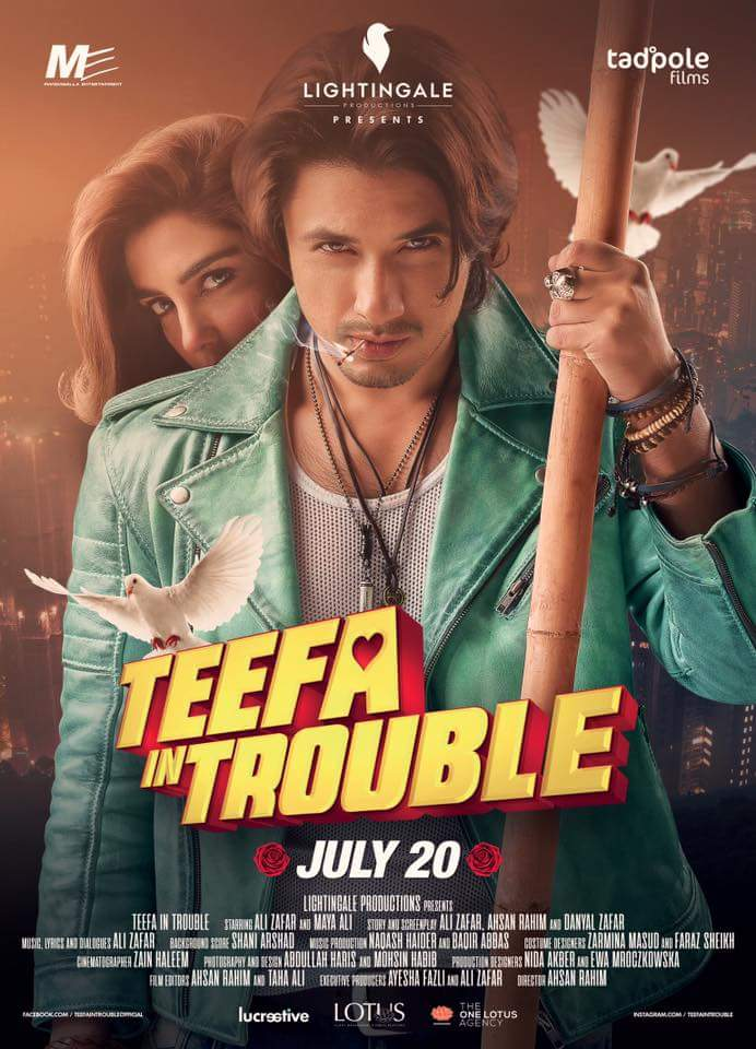 Teefa in Trouble (2018) Urdu 720p HDRip x264 ESubs