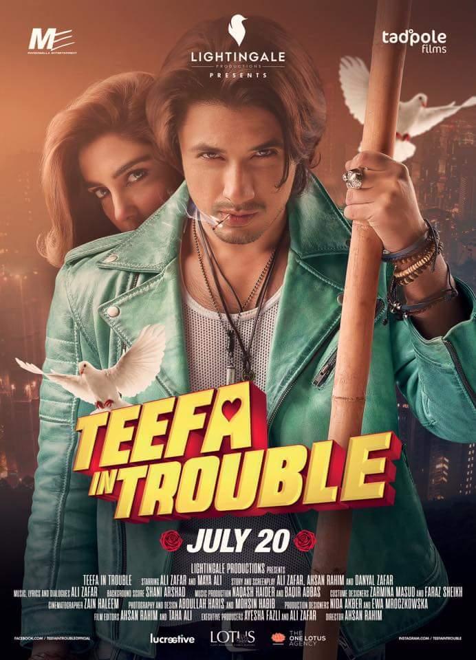 Teefa in Trouble (2018) Urdu 400MB HDRip 480p x264 ESubs Free Download