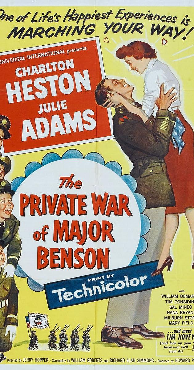 The Private War Of Major Benson 1955 Imdb
