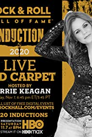 Carrie Keagan in The 2020 Rock & Roll Hall of Fame Induction Ceremony Virtual Red Carpet Live (2020)