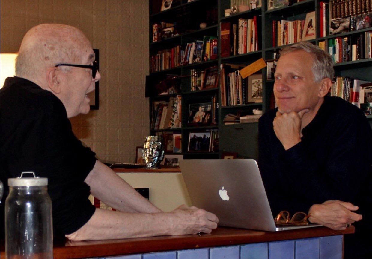Rob Epstein and Robert Hawk in Film Hawk (2017)