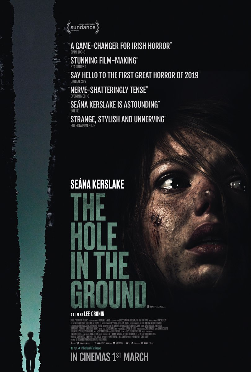SKYLĖ ŽEMĖJE (2019) / THE HOLE IN THE GROUND