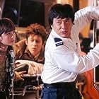 Jackie Chan, Edison Chen, and Charlene Choi in Chin gei bin (2003)