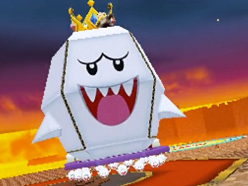 clip the king boo papercraft battle 2018