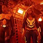 China Anne McClain, Chantal Thuy, and Nafessa Williams in Black Lightning (2017)