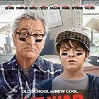 Robert De Niro and Oakes Fegley in The War with Grandpa (2020)