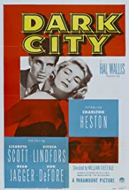 Dark City (1950) Poster - Movie Forum, Cast, Reviews