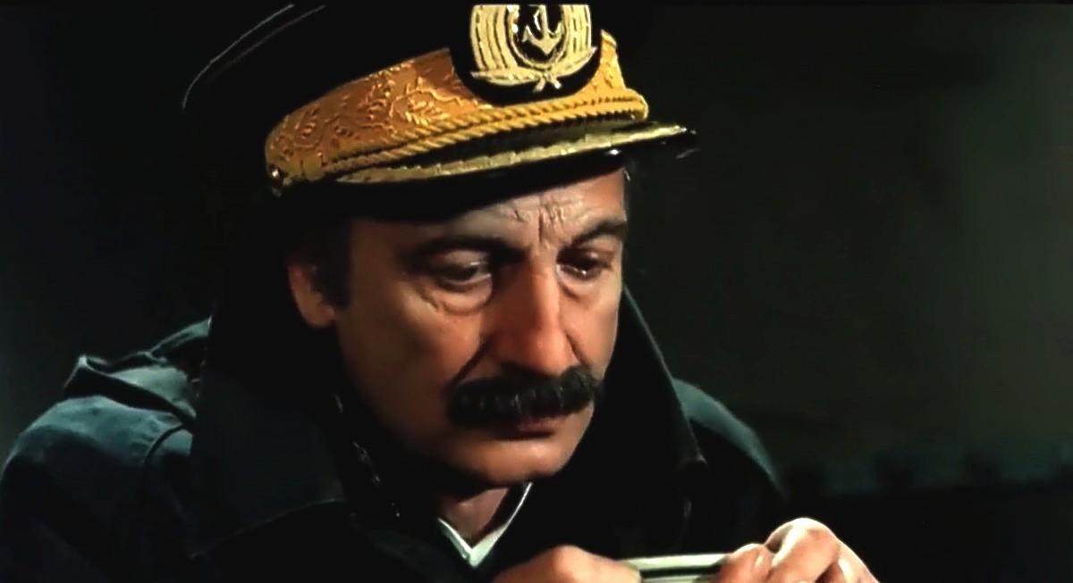 Héctor Alterio in La rosales (1984)