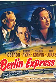 Berlin Express (1948) Poster - Movie Forum, Cast, Reviews