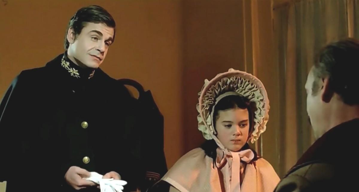 Héctor Alterio and Raúl Rizzo in La rosales (1984)