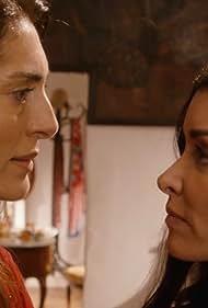 Jenifer Bartoli and Caterina Murino in Le temps est assassin (2019)