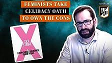 Las feministas toman el juramento de celibato para poseer las desventajas