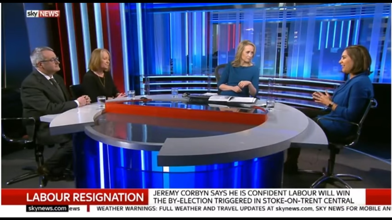 Sophy Ridge and Sonia Sodha in Sky News Tonight (2014)
