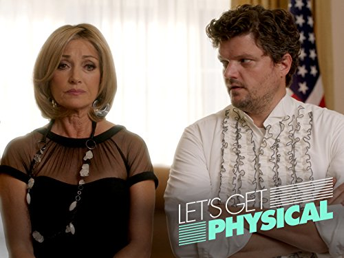 Jane Seymour and Matt Jones in Let's Get Physical (2018)