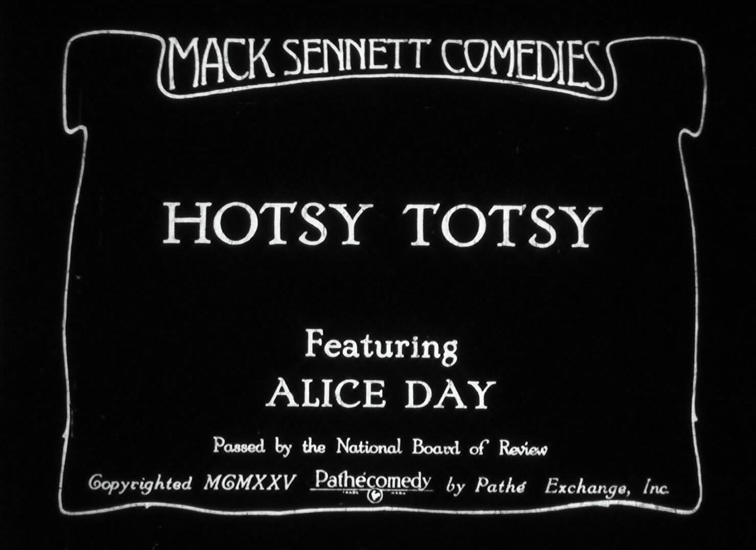 Hotsy-Totsy (1925)