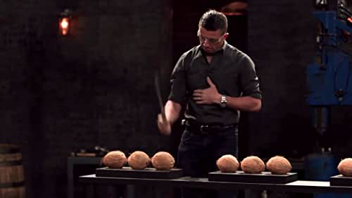 Forged In Fire: Coconut Chop and Sharpness Tests