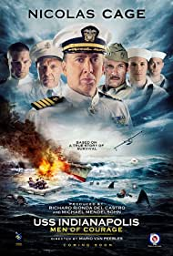 Nicolas Cage, Tom Sizemore, Thomas Jane, and Matt Lanter in USS Indianapolis: Men of Courage (2016)