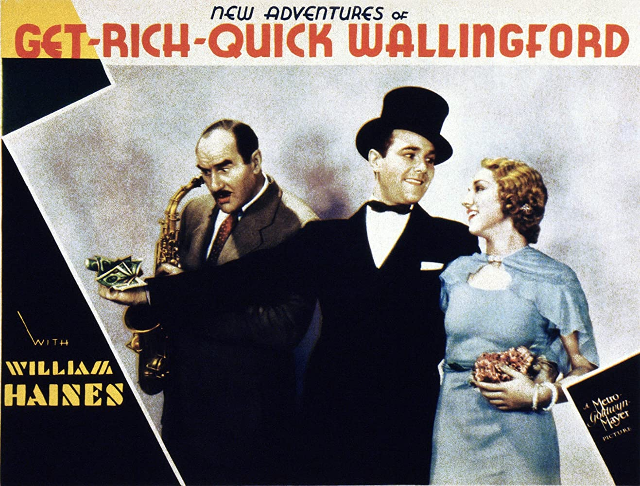 William Haines, Leila Hyams, and Ernest Torrence in New Adventures of Get-Rich-Quick Wallingford (1931)