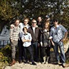 Bernhard Jasper, Dan Maag, Milan Peschel, Matthias Schweighöfer, Paula Hartmann, and Arved Friese in Der Nanny (2015)