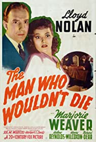 Lloyd Nolan and Marjorie Weaver in The Man Who Wouldn't Die (1942)