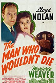 The Man Who Wouldn't Die (1942) Poster - Movie Forum, Cast, Reviews