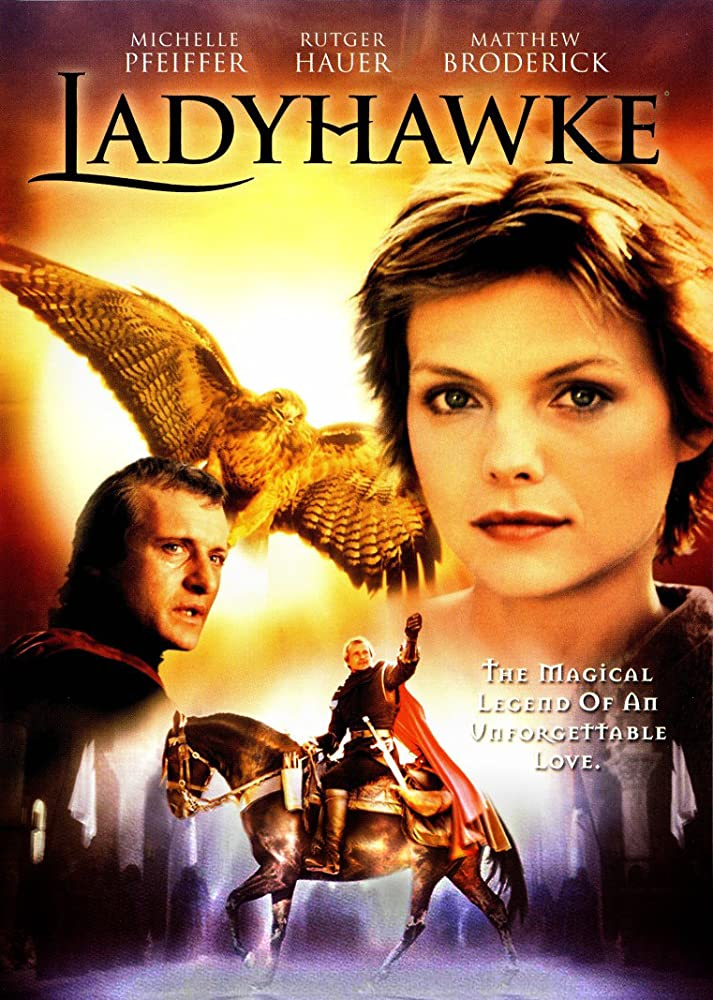 Image result for ladyhawk movie