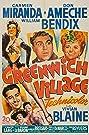 Greenwich Village (1944) Poster