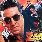Mohan Joshi, Akshay Kumar, Madhoo, and Ranjeet in Zaalim (1994)