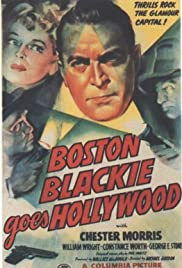 Boston Blackie Goes Hollywood Poster