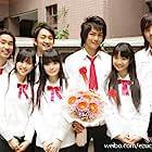 Ariel Lin, Petty Yang, Jiro Wang, and Joe Cheng Yuan Chang in E zuo ju zhi wen (2005)